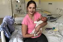 TADEÁŠ JIZBA, KLADNO. Narodil se 22. března 2019. Po porodu vážil 2,98 kg a měřil 49 cm. Rodiče jsou Kristýna Altmanová a Jiří Jizba. (porodnice Kladno)