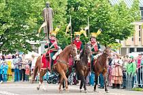 Historický průvod městem začne v sobotu v 10 hodin.