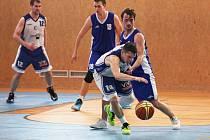 1. BK Kladno - BC Slaný 78:75 // 2. liga, ročník 2015/16, skupina A // Kladno 19.12.2015