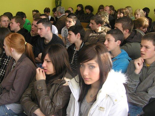SOŠ a SOU Kladno tento týden navštívili studenti a kantoři ze zahraničních škol.