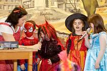 Dětský karneval ve Třebichovicích.