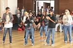 Domovy tančí. První ročník celorepublikové soutěže dětských domovů v tancích. Slaný, 18. září 2012
