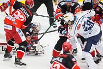 Gól Jaromíra Jágra tři minuty před koncem na výhru nestačil. Kladno prohrálo v Hradci Králové v prodloužení.