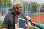 Majitel ubytovny Miloš Vorlíček.