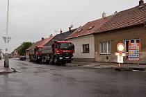 Doberskou ulici v Kladně otevřou koncem října.