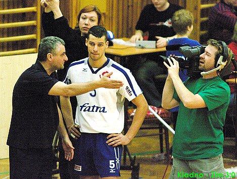 Roman Macek trenér Zlína při time