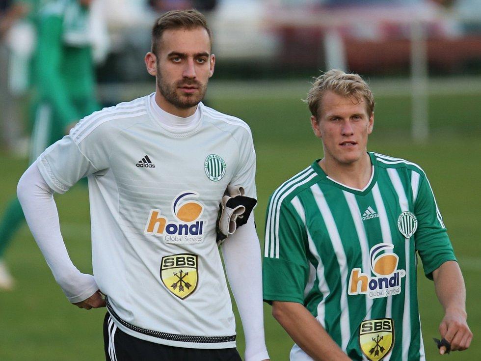 Bogdan Petrovič a Tomáš Bystřický // Sokol Hostouň - Meteor Praha 2:1 (1:1), Divize sk. B, 16.10. 2016
