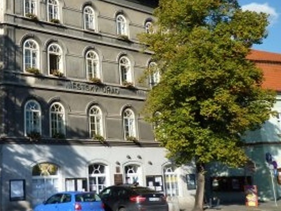 Hlavní budova Městského úřadu ve Slaném