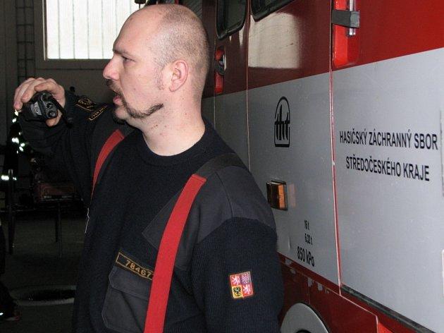 Den otevřených dveří na základně hasičů ve Slaném.