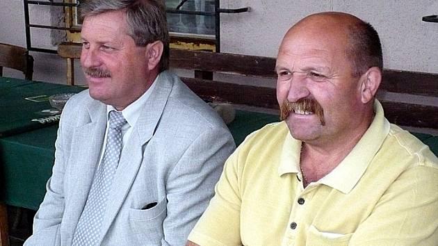Lidičáci Václav Hanf a Míra Šilhan.