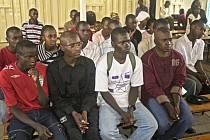 Studenti podporovaní v projektu Afrika Africe.