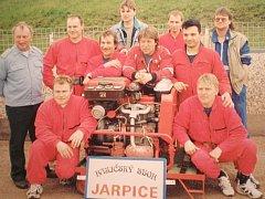 Soutěžní družstvo Sboru dobrovolných hasičů Jarpice