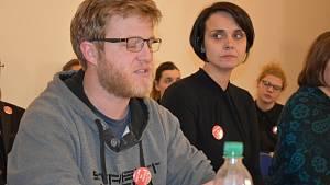 Tisková konference 21. ledna v památníku Lidice
