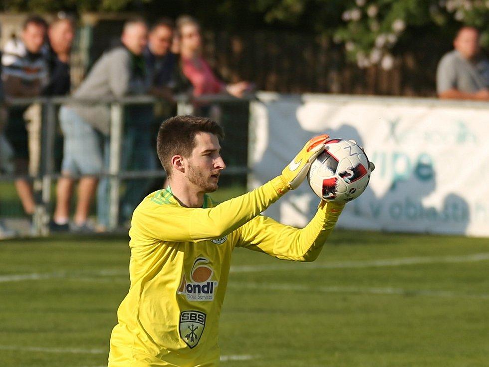 Sokol Hostouň - Slovan Velvary 1:2, Divize B, 21. 5. 2017