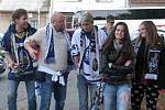 Výjezd kladenských fanoušků do Benátek byl tentokrát úspěšný.