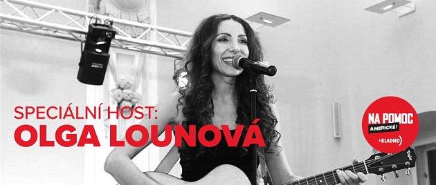 Olga Lounová je hlavní hvězdou večera, který má pomoci lidem zasaženým požárem panelového domu.