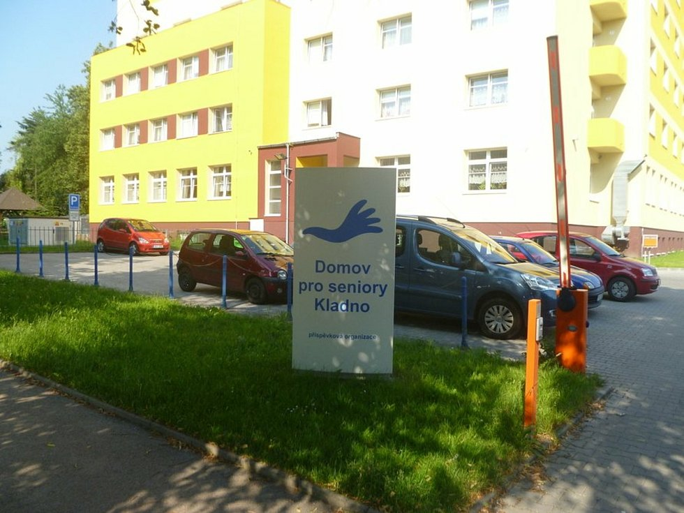 Domov pro seniory v ulici Fr. Kloze v Kladně.