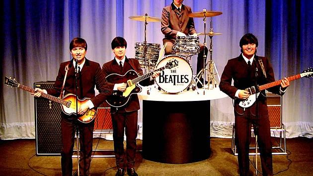 NA VĚROHODNÉ IMAGE The Beatles si kladenská kapela dala záležet.