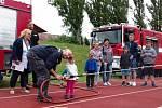 Dětský sportovní den se konal ve Slaném.
