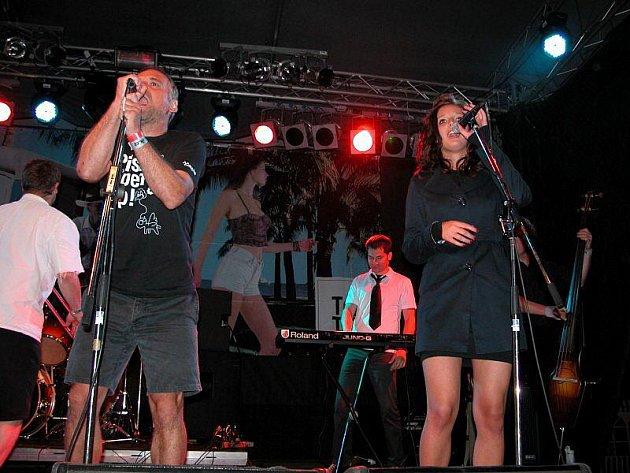 Na festivalu Rock na valníku vystoupila před dvěma lety kapela Tleskač.