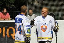 Turnaj hokejbalových veteránů proběhl 24.- 25. 8. 2013 v Kladně