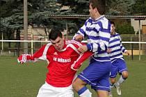 SK Hřebeč – Kralův Dvůr B 0:2 , utkání I.B tř.,hráno 2. 4. 2011