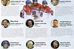 Osm kladenských kapitánů národního týmu