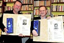 Jiří Hanke (vlevo) a Václav Týfa.