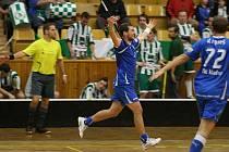 Kladenský FBC slaví historicky první výhru v extralize - pražskou Bohemku porazilo doma 6:3 - 3. října 2010.