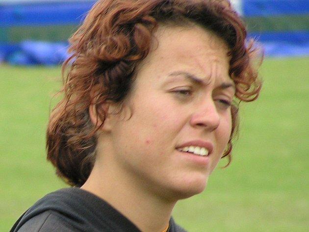 Na Kateřinu Líbalovou se mohou trenéři Kladna spolehnout.