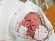 ROZÁLIE MICHOVSKÁ, VELVARY. Narodila se 12. ledna 2018. Po porodu vážila 3,44 kg a měřila 49 cm. Rodiče jsou Lucie Nováková a Ondřej Michovský. (porodnice Slaný)