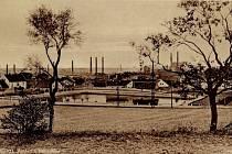 Kročehlavský rybník na snímku ze třicátých let dvacátého století.