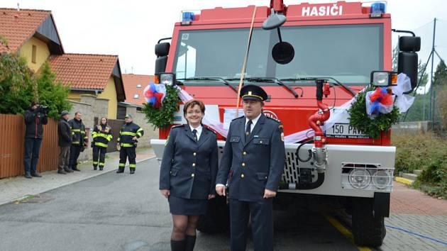 SDH Braškov má novou Tatru 815-7.