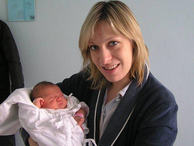 Tereza Klimušová, 7. 3. 2008, Praha, váha 3,24 kg, míra 48 cm, rodiče jsou Michaela Kálalová a Martin Klimuš (porodnice Kladno).