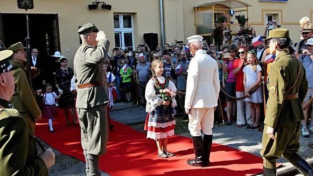 Rekonstrukce cesty prezidenta Masaryka do Lán.
