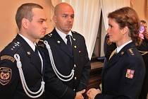 Velitel hasičů ve Slaném dostal ocenění. Za zásah v době volna.