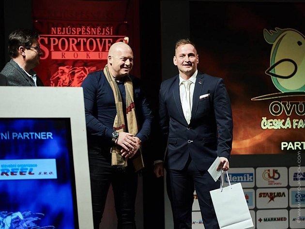 2. místo Mario Jarkas z TCB Gym Slaný byl Nejúspěšnějším sportovcem Slaného 2015 a tentokrát se prosadil i mezi trenéry (vpravo)
