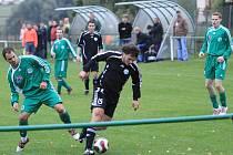 Sokol Hostouň - Čechie Velká Dobrá 1:3 , utkání I.B stč. kraj, tř. 2010/11, hráno 26.9.2010