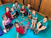 Děti na startu na 1. ZŠ v Kladně cvičí už několik let.