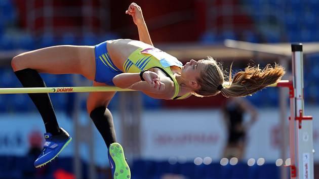Kladenská výškařka Kristýna Dvořáková