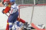 KEB Kladno - Hradec Králové 6:2 (2:0, 2:1, 2:1), 2. finále extraligy hokejbalu 2008/9, hráno10.5.2009