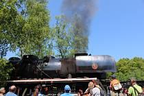 Na trase mezi Prahou a Lužnou vozily o víkendu veřejnost lokomotivy Šlechtična a Štokr.