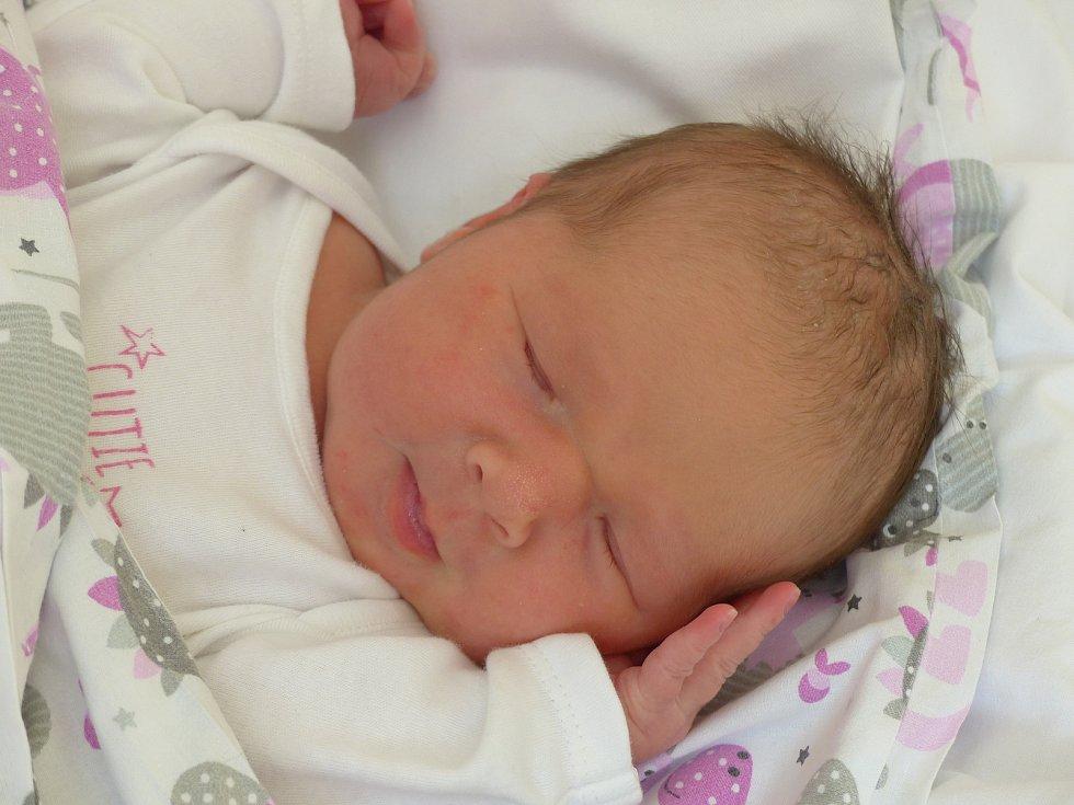 Adéla Beranová se narodila 9. února 2021 v kolínské porodnici, vážila 3740 g a měřila 50 cm. V Senici ji přivítal bráška Adámek (7) a rodiče Aneta a Tomáš.