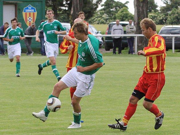 Lidice - Hostouň 0:0, I.B. tř. sk.B - 19.6.2010 / Rivalové na závěr sezóny smírně...