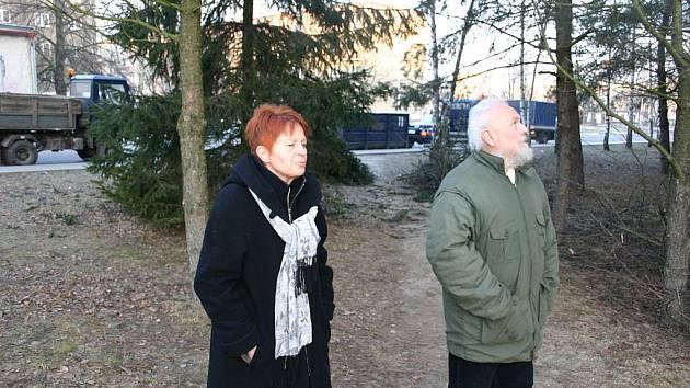 Dagmar a Zdirad Čechovi.
