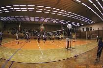 Brownhouse Kladno – DHL Ostrava 3:2, volejbalová Kooperativa extraliga mužů, 17.k., 12.12.2009