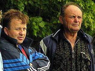 Trenér Knovíze Jaroslav  Drbal  musel spolknout tři porážky v řadě. Jak jeho svěřenci uspějí v sobotu v Doksech?