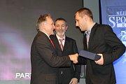Sportovní hvězda Deníku Libor Volf - fotbal (vpravo)