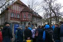 Snímky ze sobotní historické procházky pořádané Statutárním městem Kladno a Haldou, z.s. po objektech jako Poldihaus, Bachrovna, hejtmanství a dalších.