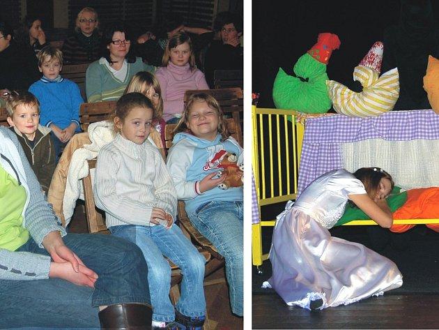 Pohádka o Sněhurce děti pobavila.